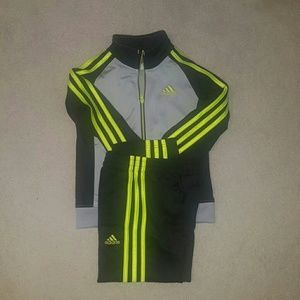 ADIDAS track suit. Boys size 5